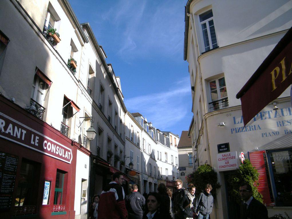 Quelques rues, des escaliers... des musées...