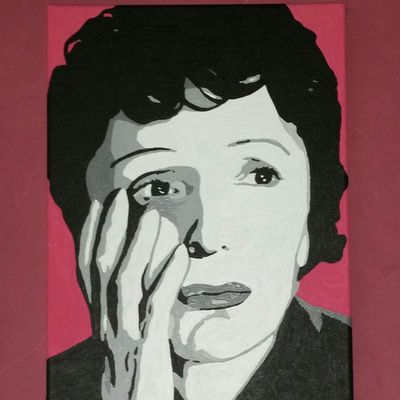 Portrait d' Edith Piaf
