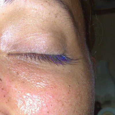 Extension de cils couleur violet, Bailly Romainvilliers, Bussy saint Georges, Roissy en Brie, Ozoir la Ferriere