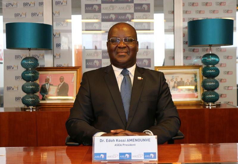 Bourses: Dr Edoh Kossi Amenouve, directeur général de la BRVM président réélu à la tête de l'ASEA
