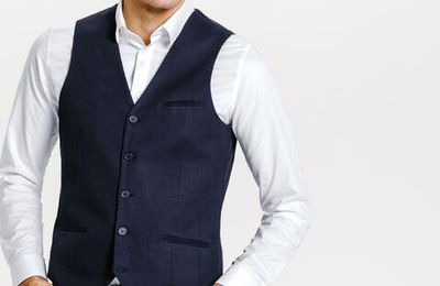 Gilet costume homme h&m