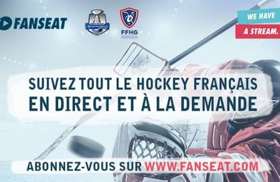 [Droits TV] Hockey - Prolongement du Partenariat FFHG / Fanseat jusqu'en 2024 !