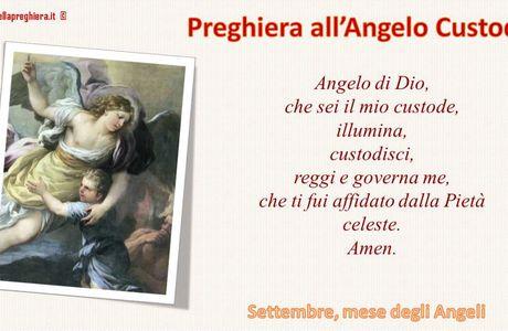 Settembre: mese dedicato agli Angeli