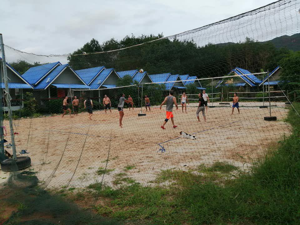 Activités sportives au quotidien sur notre beau campus