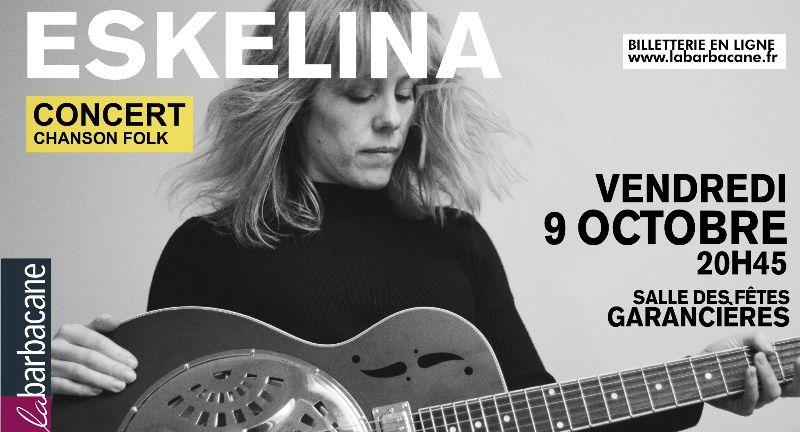 ESKELINA en concert à Garancières le 9 octobre à 20h45
