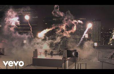 Etalonnage du nouveau clip d'Indochine.