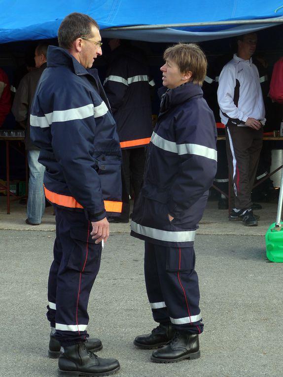 Cross d'entrainement des Sapeurs-Pompiers le 12 Décembre 2010, à Feillens. A l'année prochaine !