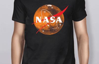 Planet Mars Nasa Shirt