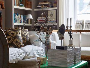 L'appartement d'un chineur-collectionneur suédois
