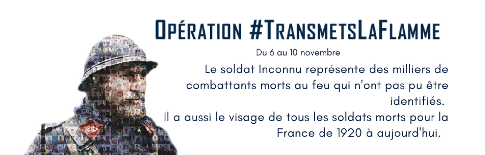 OPERATION TRANSMETS LA FLAMME...