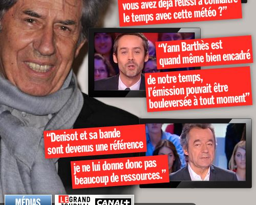 Philippe Gildas juge Le Grand Journal !