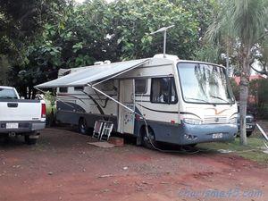 Camping Paudimar, Fos de Iguazu, Brésil en camping-car