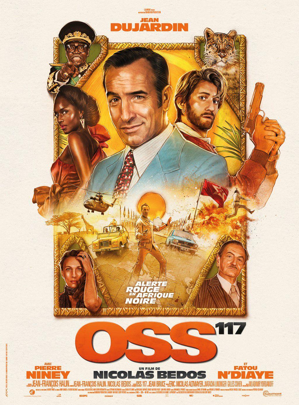 OSS 117 débarque sur la croisette pour la Dernière Séance du 74e Festival de Cannes !
