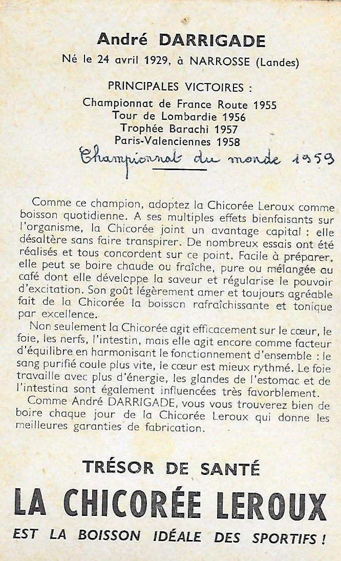 La CHICOREE LEROUX.