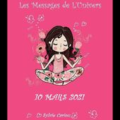 MESSAGES DE L'UNIVERS 10 MARS 2021 L'OURS AUGURE COLERE ET CONFINEMENT???