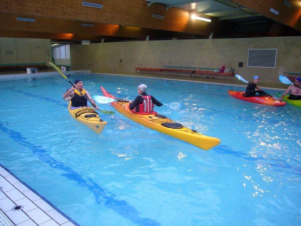 Dimanche 10 janvier 2010. Premier entraînement de l'année en piscine.