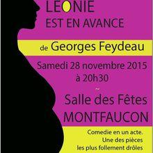 Léonie est en avance de G. Feydeau