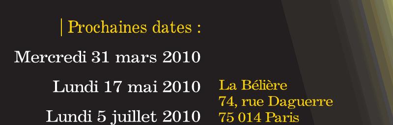 Paris - Apéro d'Opéra - Concert exceptionnel le mardi 6 avril!