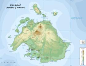 Efate, l'une des 200 îles du Vanuatu