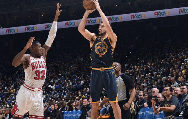Golden State humilie les Bulls