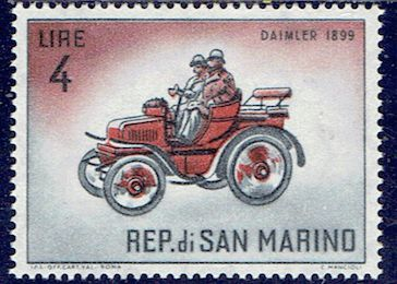 L'automobile Daimler Veteran