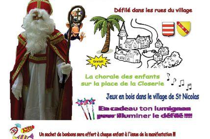Peltre CSE Les Pel'tiots la Fête de St Nicolas