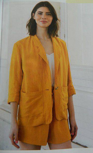 Ensuite un ensemble qui me paraît très sympa constitué de la veste Vera et du short Leto....