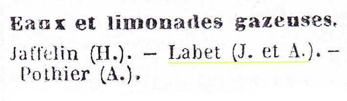 Annuaire du commerce de la Côte d'Or, 1889. ©doc. Delahaye.