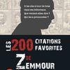 Octobre 2021 : Les 200 citations favorites de Zemmour