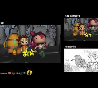 Demo reel Layout 3D Pirata et Capitano