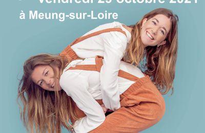 DEUX INVITATIONS pour le concert Les Frangines + TiM! vendredi 29 octobre à Meung-sur-Loire (45)