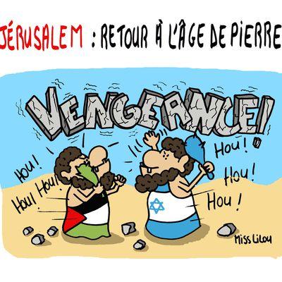 JÉRUSALEM : retour à l'âge de pierre...