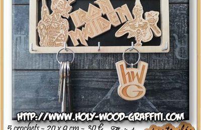 Porte-clés mural d' Iron Maiden