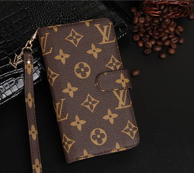 Lv/Gucci/Burberry klassische Börsetasche Handyhülle! Eine Hülle sondern auch eine Geldtasche.