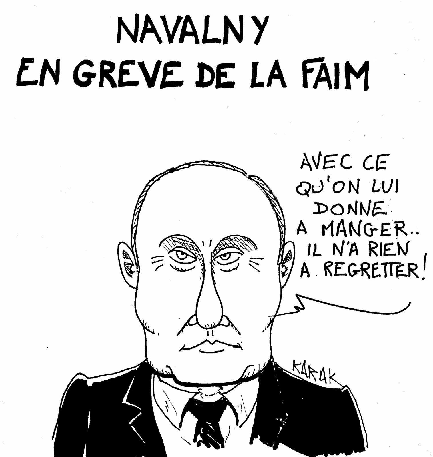 Navalny fin gourmet