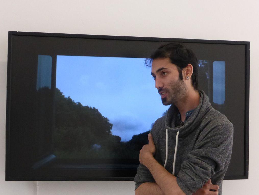 Paysages a circadiens, exposition Hicham Berrada, Galerie kamel mennour, Paris © Le Curieux des arts Gilles Kraemer, présentation presse, avril 2015