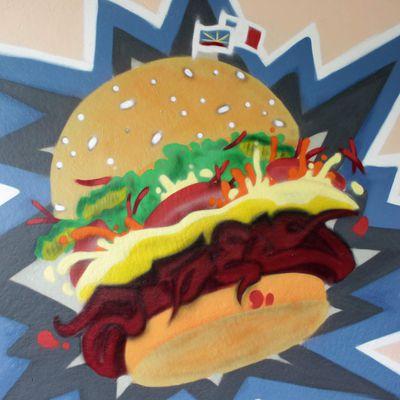 Burger letterz deluxe