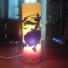 """1670- Lampe de décoration  """"Sorcière""""     Fr.  110.--"""