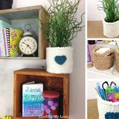 How to crochet a round basket (any size / any yarn) | Craftify My Love
