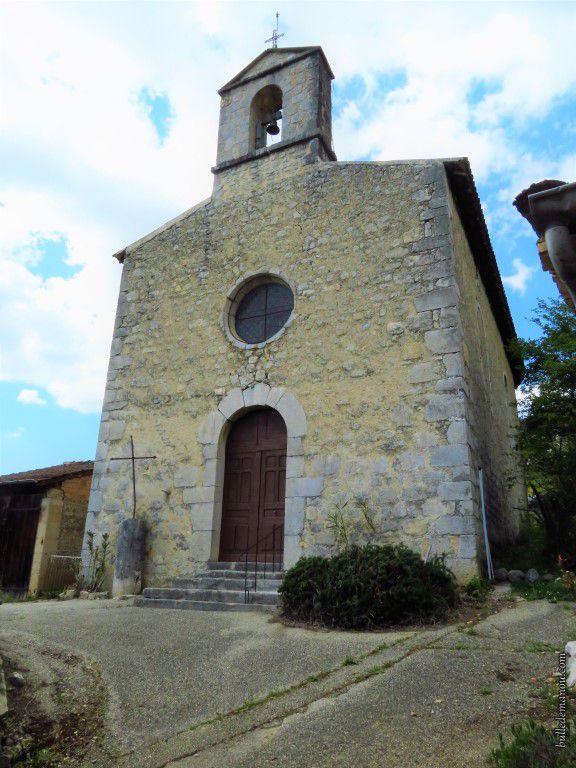 L'église Saint-Anne de Barsac