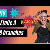 Réussir un centre d'ETOILE à 8 branches au PATCHWORK (partie 2 - Patchwork Noël)