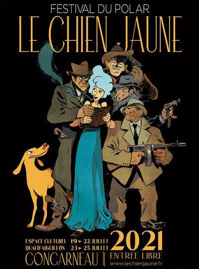 Le chien jaune -Concarneau 19-22 juillet 2021