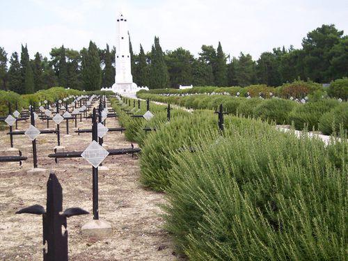 Cimetière militaire français de Seddul-Bahr.