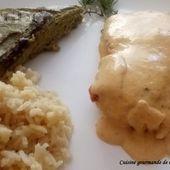 Cabillaud sauce au chorizo - Cuisine gourmande de Carmencita