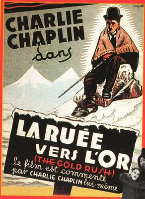 La Ruée vers l'or de et avec Charlie Chaplin - Mack Swain - Tom Murray - Henry Bergman