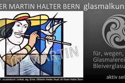 Martin Halter Glasmaler/Kunstglaser EFZ Glasmaler-Restaurator IER Bern