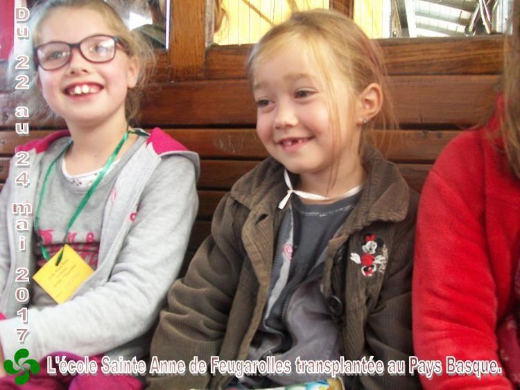 L'école a déménagé au Pays Basque pendant 3 jours...