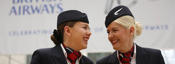 Dallas and Molly: British Airways Mum and Daughter Cabin Crew