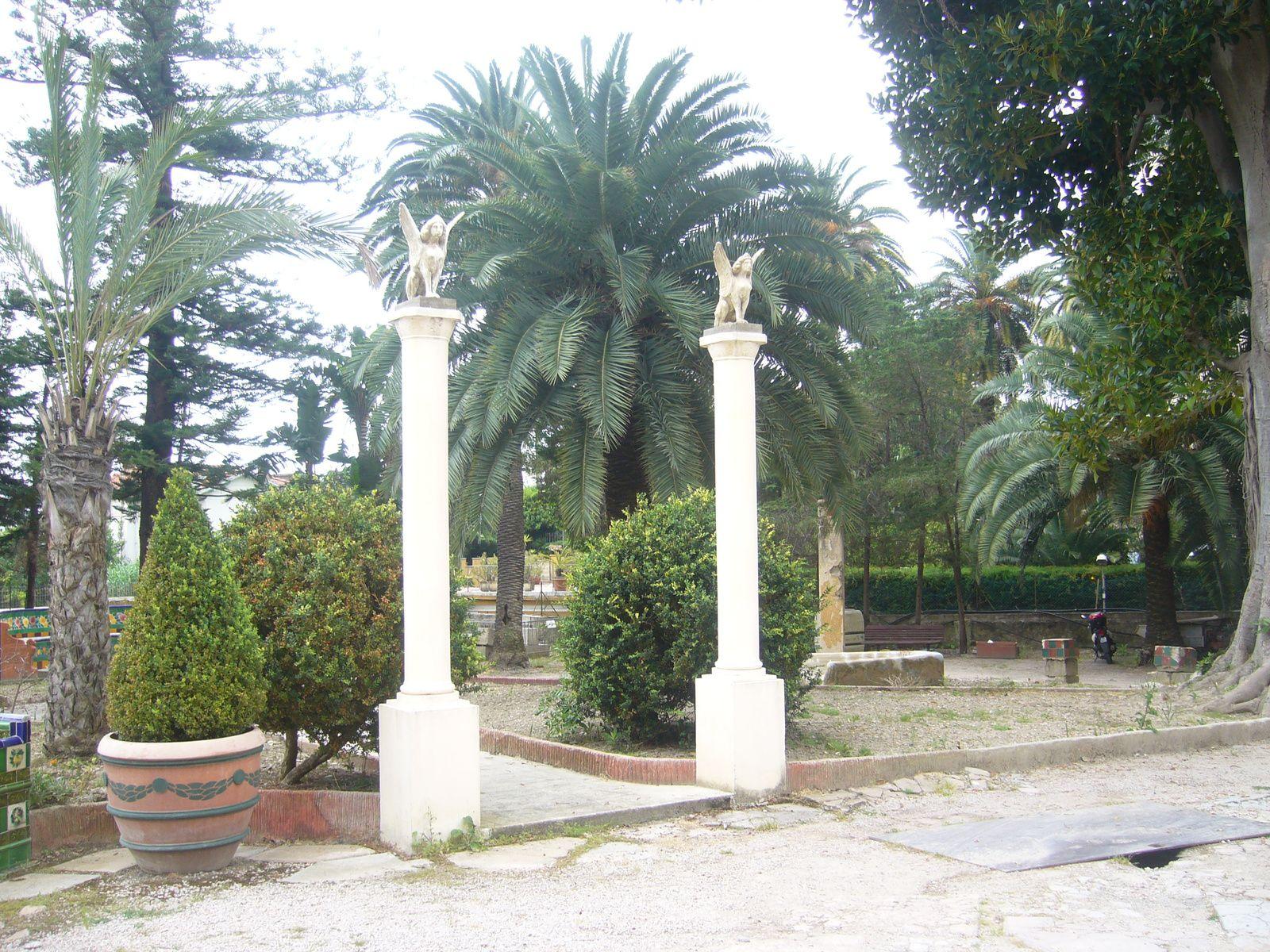 jardin Fontana Rosa à Menton (Alpes maritimes)
