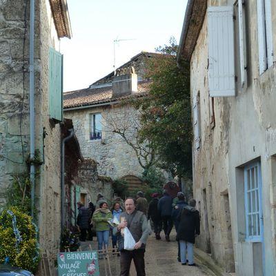 Sur la route des crèches à Castelmoron